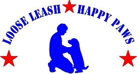 Loose Leash Happy Paws Logo